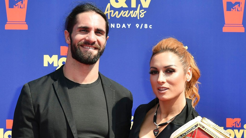 WWE's Seth Rollins and Becky Lynch Are Engaged thumbnail