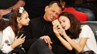Arod Admits He Made Burner Instagram Account to Follow Daughters Natasha and Ella