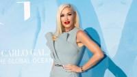 Gwen Stefani Blue Gown September 26, 2019