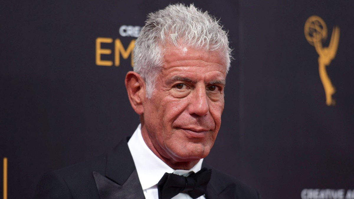 Anthony Bourdain Wins Posthumous Emmys as Many of His Possessions Head to Auction