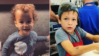 Celeb Kids in the Kitchen Luna Stephens and Hudson Stone