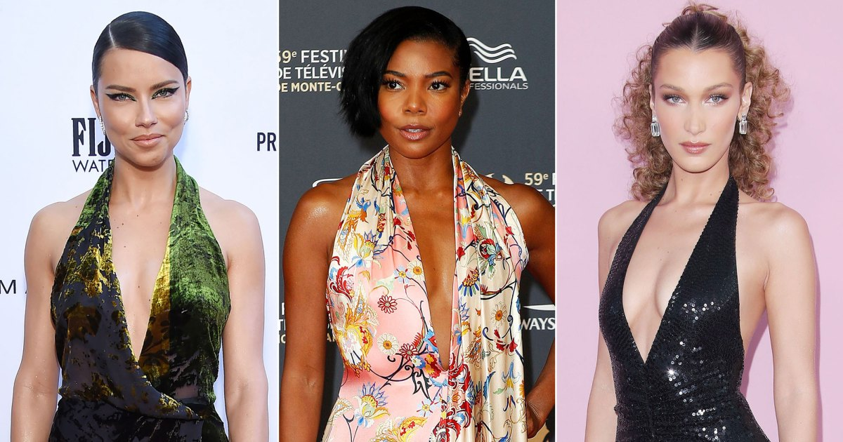 Hollywood's Halters: Stars Love This Low-cut Neckline on the Red Carpet