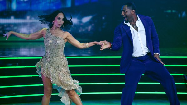 Cheryl Burke and Ray Lewis on Dancing with the Stars