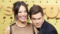 Chloe Bridges and Adam DeVine Emmys 2019 Celebrity PDA