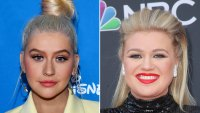 Christina Aguilera and Kelly Clarkson