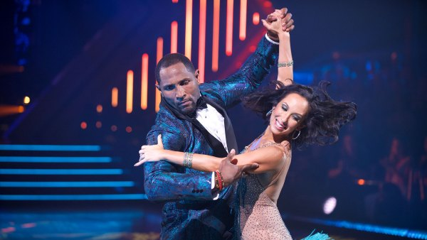 Dancing With The Stars Cheryl Burke, Ray Lewis