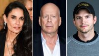 Demi Moore Talks Exes Bruce Willis Ashton Kutcher