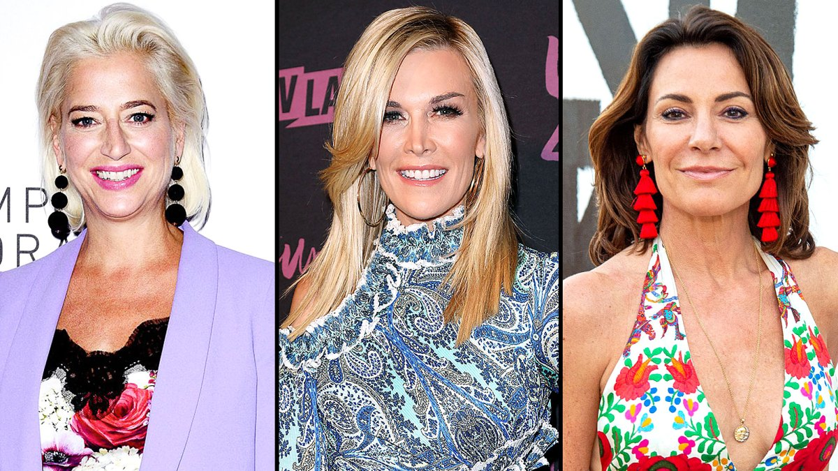 'Real Housewives of New York City' Stars Dorinda Medley and Tinsley Mortimer Spotted Fighting at Luann de Lesseps' Event