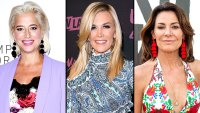 Dorinda Medley Tinsley Mortimer Spotted Fighting Luann de Lesseps Event