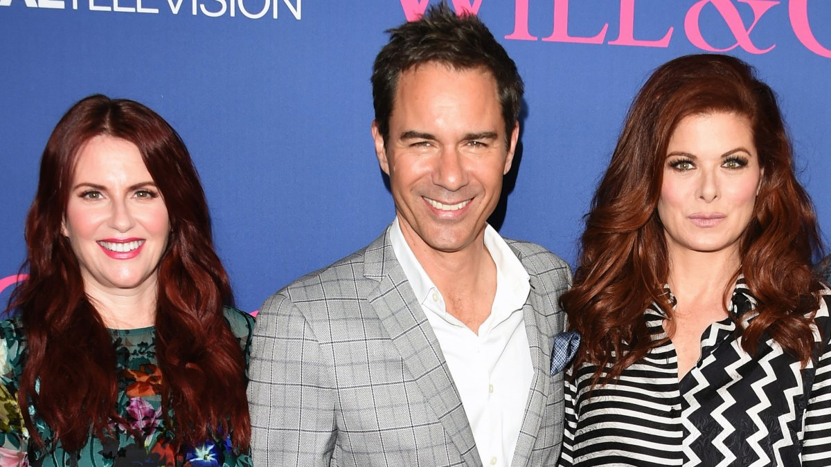 'Will & Grace' Star Eric McCormack Talks 'Crazy' Rumors of a Feud Between Debra Messing and Megan Mullally