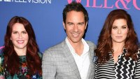 Eric McCormack on 'Crazy' Debra Messing, Meghan Mullaly Feud: