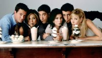 Friends Cast Morph Through The Years Drinking Milk Shakes