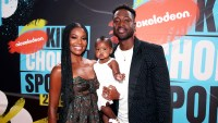 Gabrielle Union and Dwyane Wade with Daughter Kaavia
