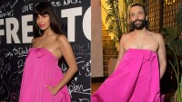 Jameela Jamil and Jonathan Van Ness WWIB