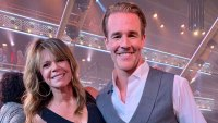 James Van Der Beek's 'Dawson's Creek' Mom Mary-Margaret Humes Supports Him at 'DWTS' Premiere
