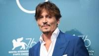 Johnny Depp Blue Suit September 6, 2019