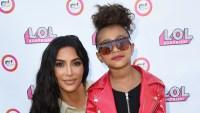 Kim Kardashian With Daughter North