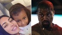 Kim Kardashian Says She 'Got in Trouble' with Kanye West for Letting North Wear Lipstick: 'No More Makeup'