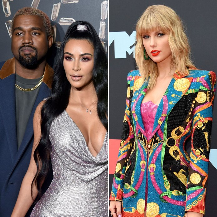 Kim Kardashian and Kanye West Over Feud With Taylor Swift