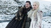 Kit Harington, Emilia Clarke Game of Thrones Emmy Winner