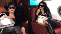 Kris and Kylie Jenner Mother Daughter Twinning Instagram