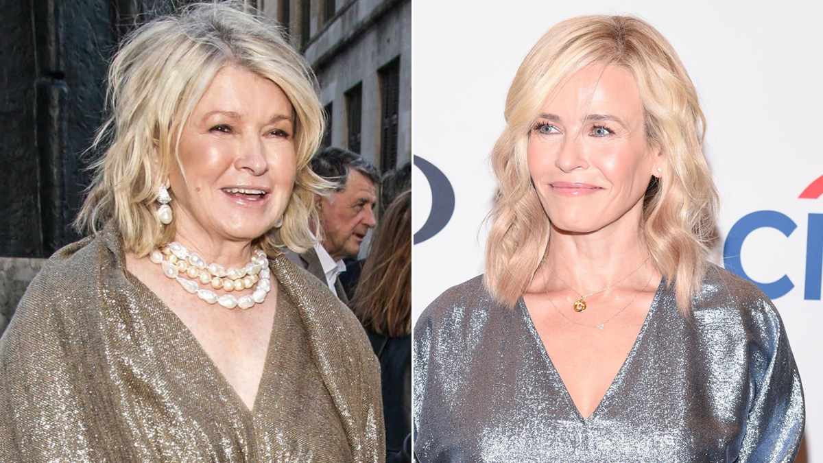 Martha Stewart Praises Chelsea Handler's Hilarious Copycat Pic With 2 Dogs: She 'Must Love Me'