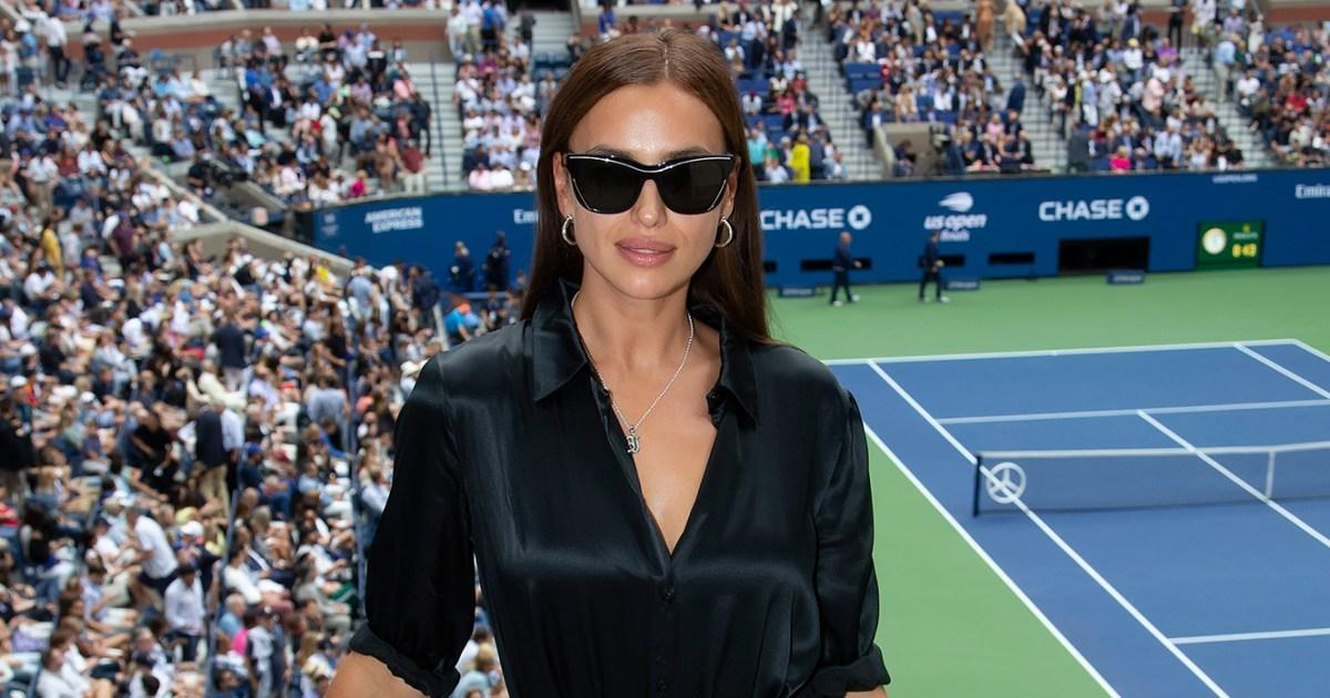 Irina Shayk Looked Chic While Watching the 2019 US Open