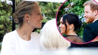 Prince Harry Duchess Meghan Beam Misha Nonoo Star-Studded Wedding