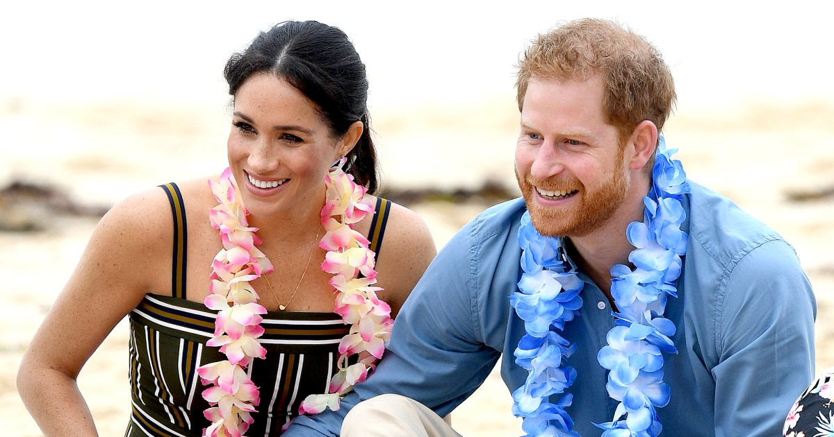 Prince Harry and Duchess Meghan's Sweetest PDA Moments: Pics