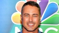 Taylor Kinney Spotted Kissing Mystery Woman