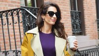 Amal Clooney Fall Fashion October 1, 2019