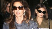 Cindy Crawford and Kaia Gerber Twinning
