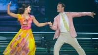 Emma Slater and James Van Der Beek Dancing with the Stars