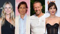 Gwyneth Paltrow, Brad Falchuk and Chris Martin, Dakota Johnson Are All Very Friendly