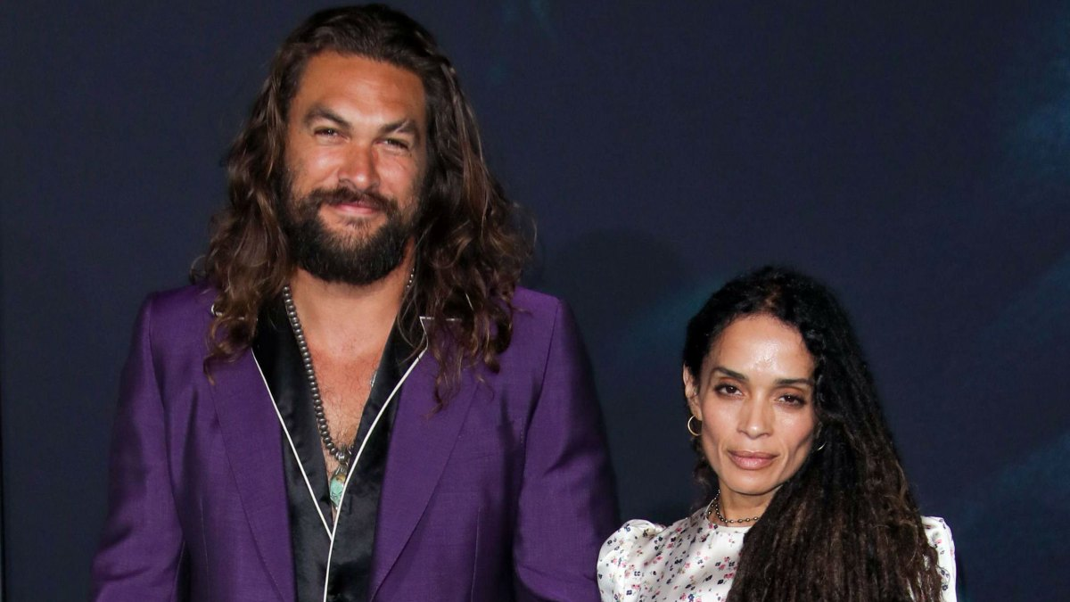 Jason Momoa Didn't Tell Lisa Bonet He Was a 'Stalker' Until After They Had Kids: She Was My 'Dream Girl'