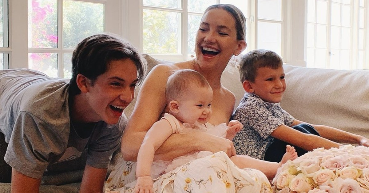 Kate Hudson's Sweetest Motherhood Quotes About Kids Ryder, Bingham and Rani: 'Loves of My Life'