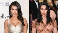 Kim Kardashian's Body Evolution