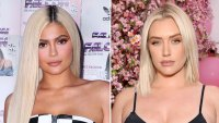 Kylie Jenner and BFF Stassi Karanikolaou Recreate Iconic Britney Spears and Madonna VMAs Kiss in Epic Halloween Costumes