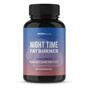 MAV Nutrition Night Time Fat Burner bottle