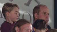 Prince George Proves He Is Prince William's Mini-Me as Family Takes in Soccer Match