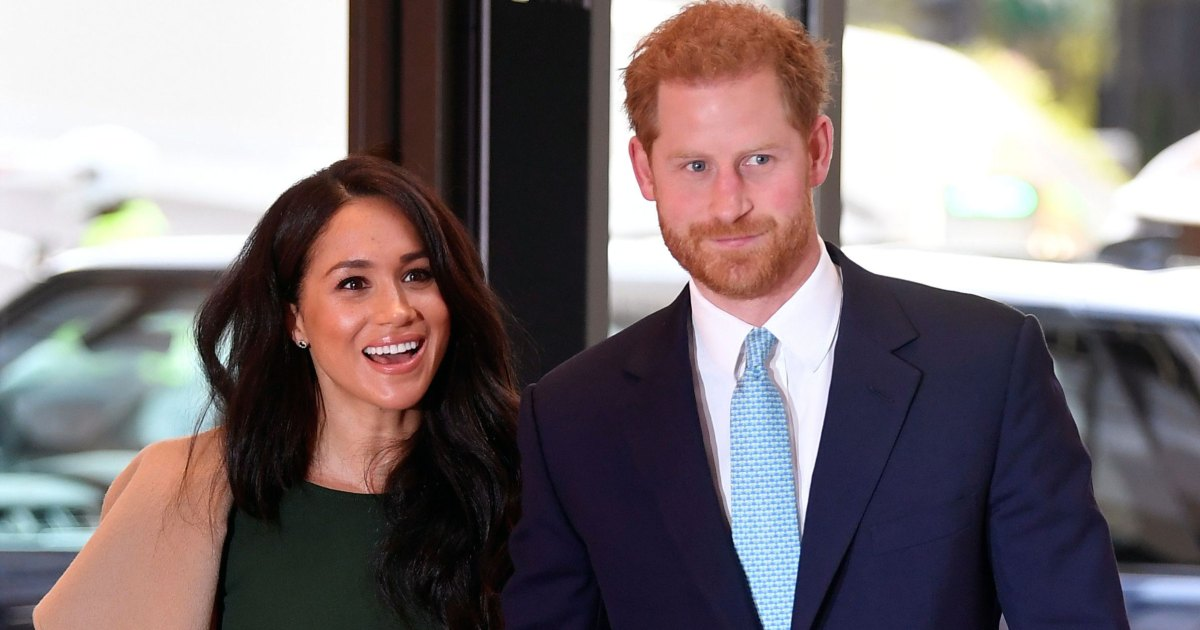Prince Harry Tells Duchess Meghan She Looks Amazing After Son's Birth