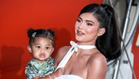 Stormi Webster and Kylie Jenner White Dress
