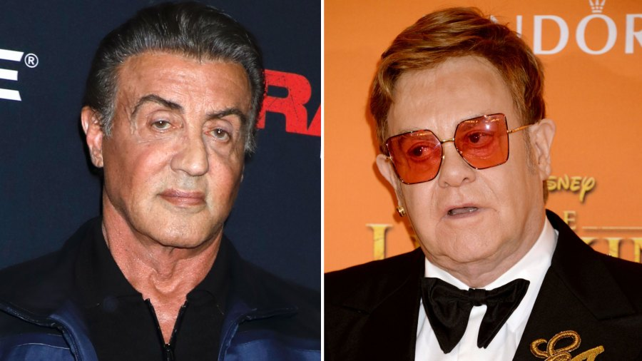 Sylvester Stallone Slams Elton John's Claim He Fought Richard Gere Over Princess Diana-1