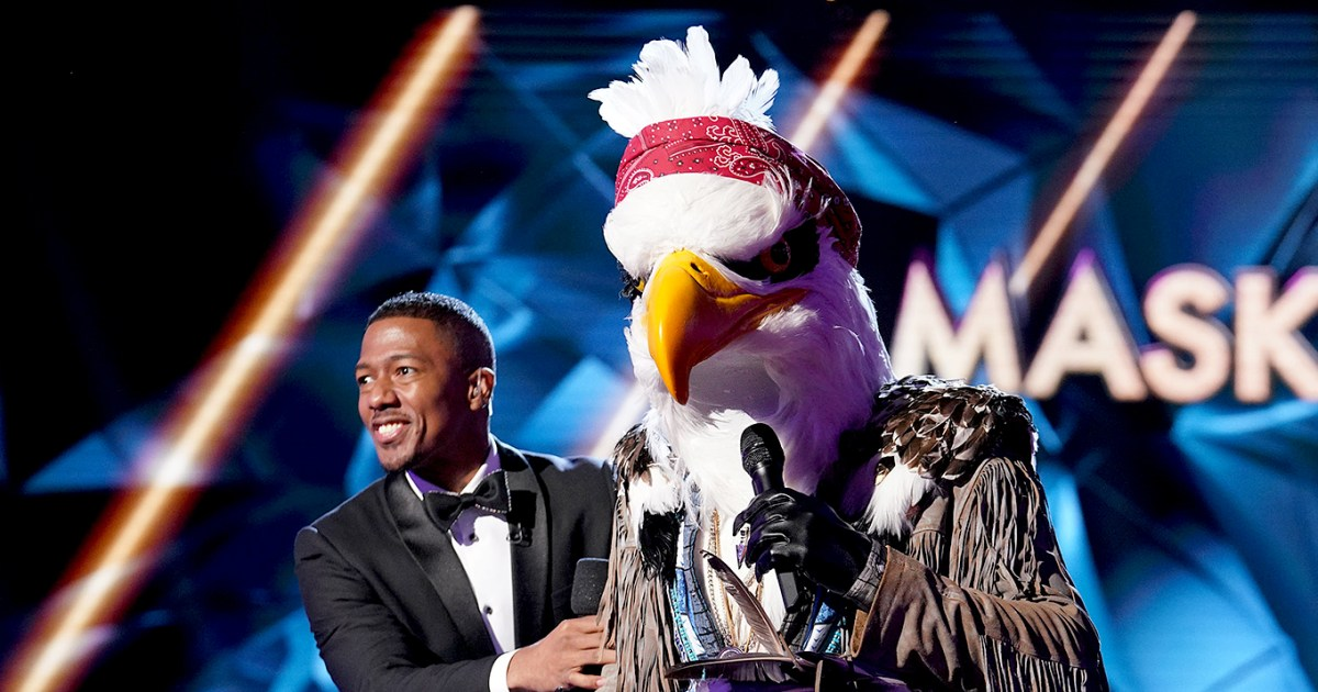 'The Masked Singer' Unmasks the Eagle — Plus Reveals Clues for the Penguin, Eagle and Flower