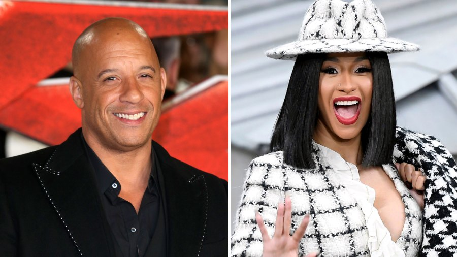 Vin Diesel Reveals Cardi B to Join 'Fast & Furious' Cast In New Post