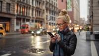 woman-using-rosetta-stone-app