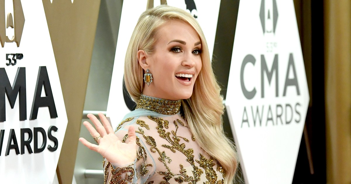 See the Stunning Outfits Carrie Underwood Wore to the CMA Awards 2019 — Including Gowns, Pantsuits, Minidresses and More!