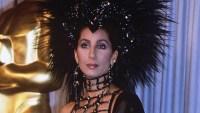 Cher's 1986 Oscars Dress