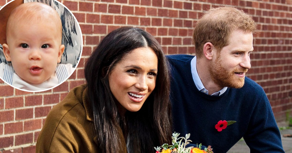 Duchess Meghan and Prince Harry's Son Archie Is Crawling and Has 2 Teeth