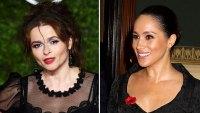 Helena Bonham Carter Gives Advice to Duchess Meghan